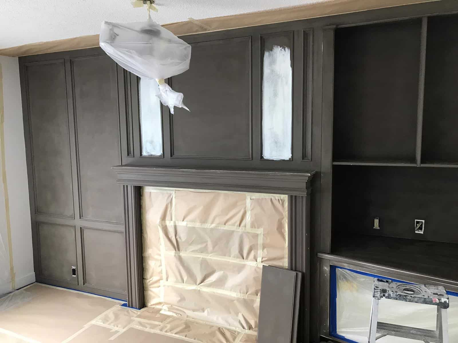 cabinet painting calgary