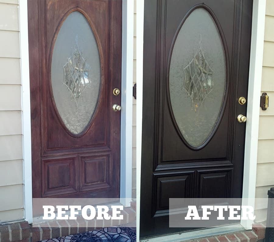 door painting calgary