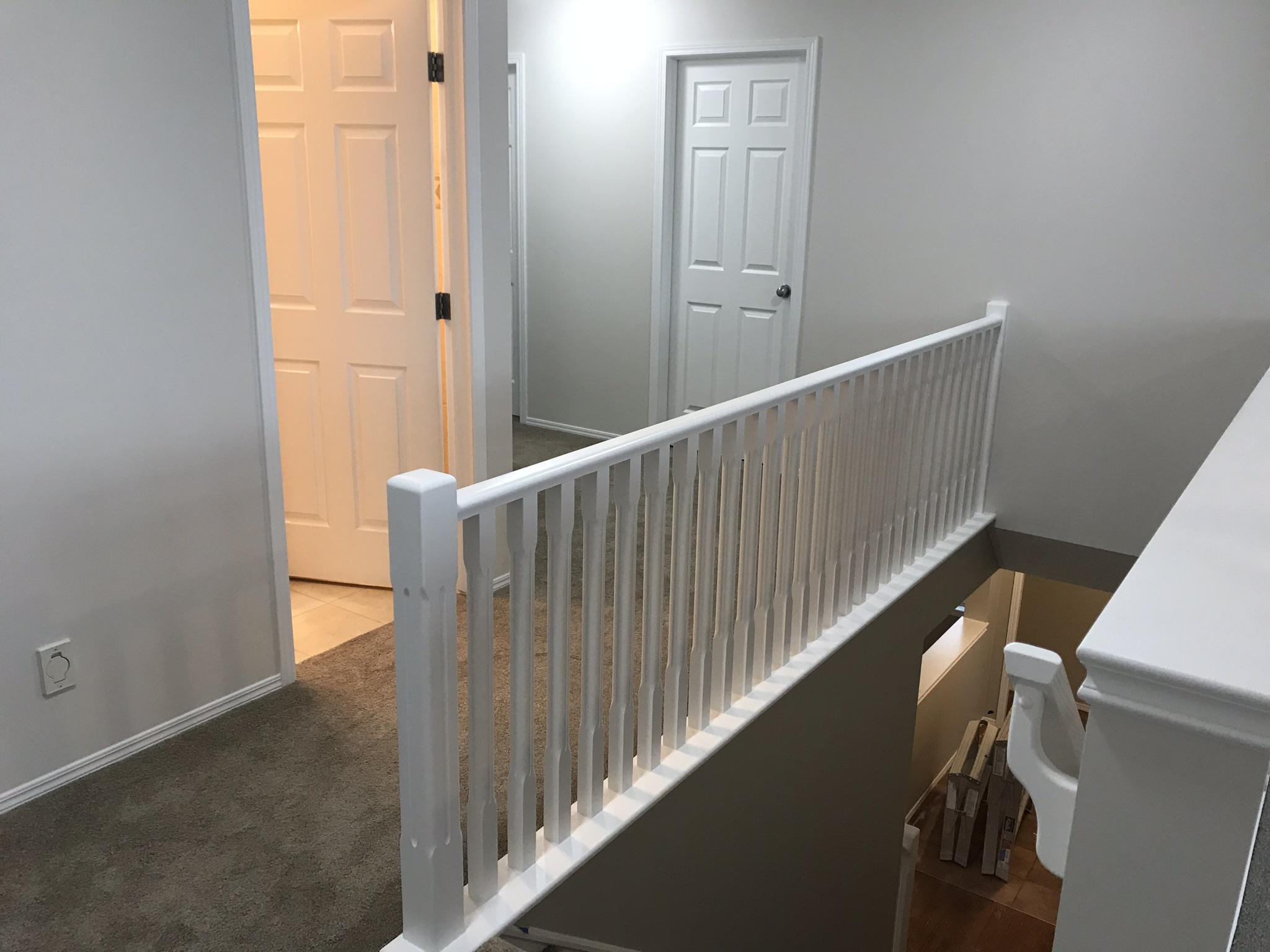 calgary railing painting